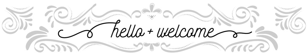 hello + welcome!
