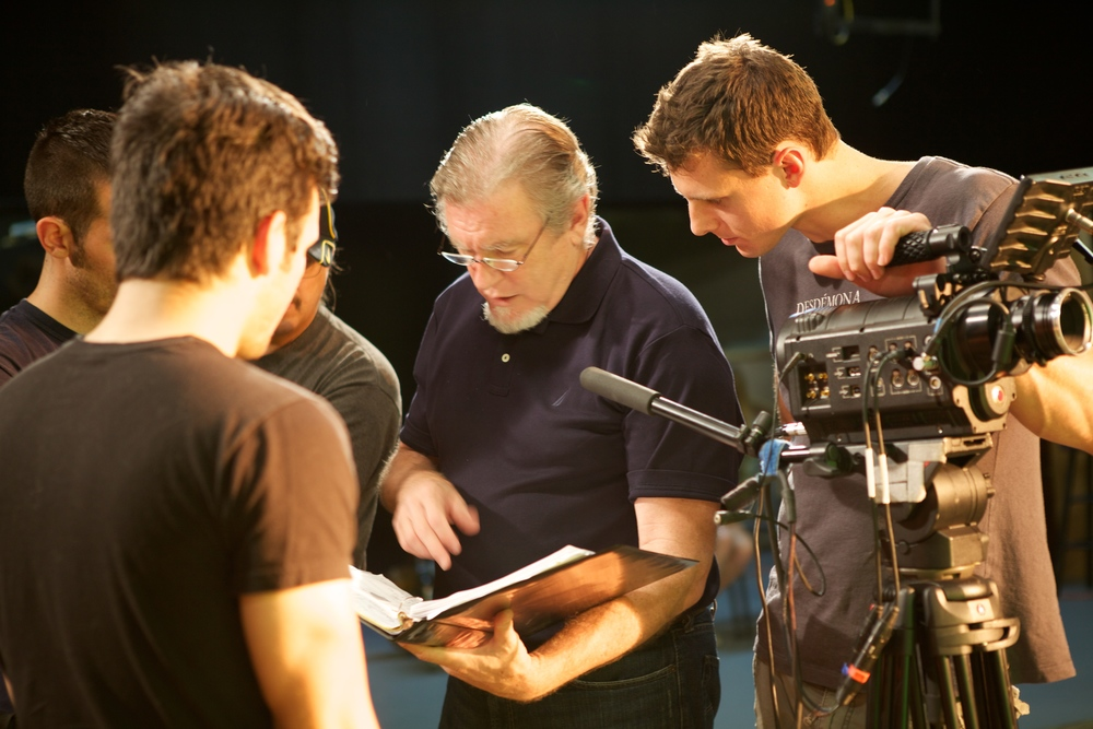Director Peter Spencer and DP Philip Roy - Photo By: Robin Morris