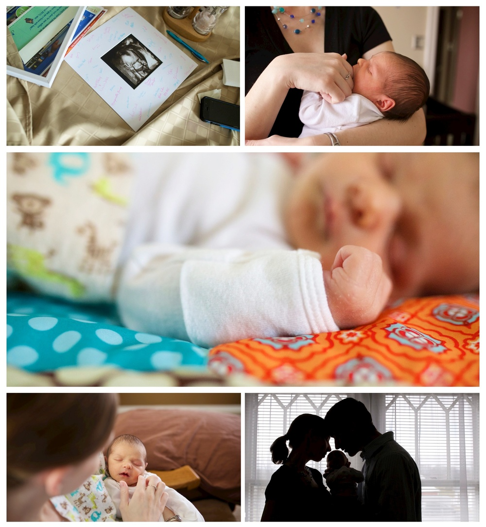 Newborn Family Photographer Central Virginia