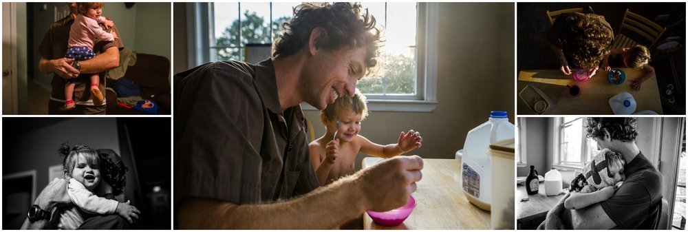 hollipoolphotography, father, child, daddy son eating breakfast