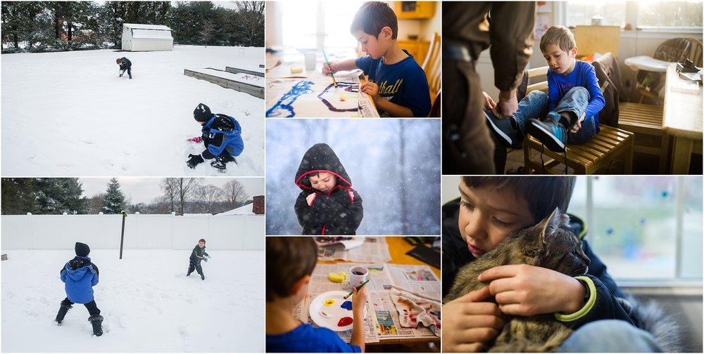 Staunton Waynesboro Fishersville photographer boy kindergarten