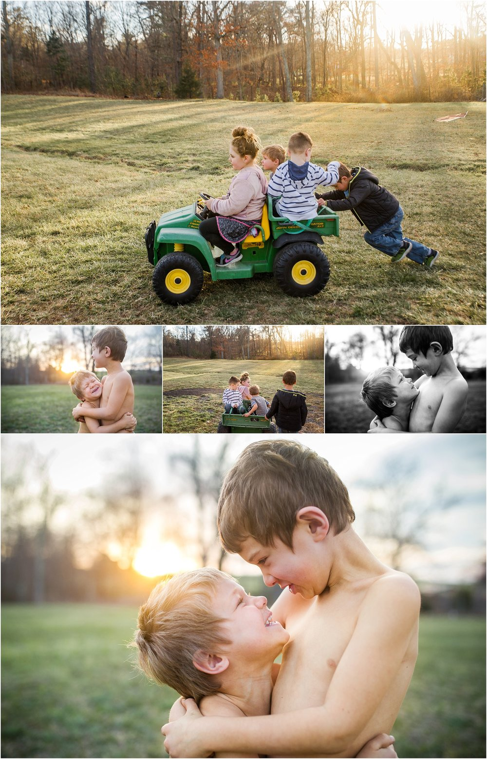 Staunton Waynesboro Fishersville photographer siblings, brothers