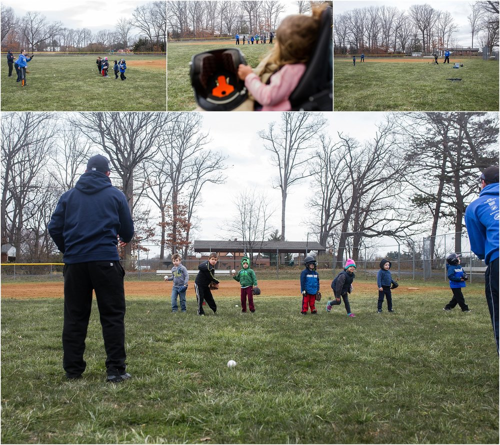 family photographer, Staunton, Waynesboro, Fishersville, t-ball practice