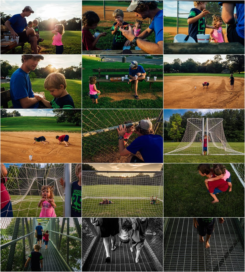 Ridgeview Park, playing, family