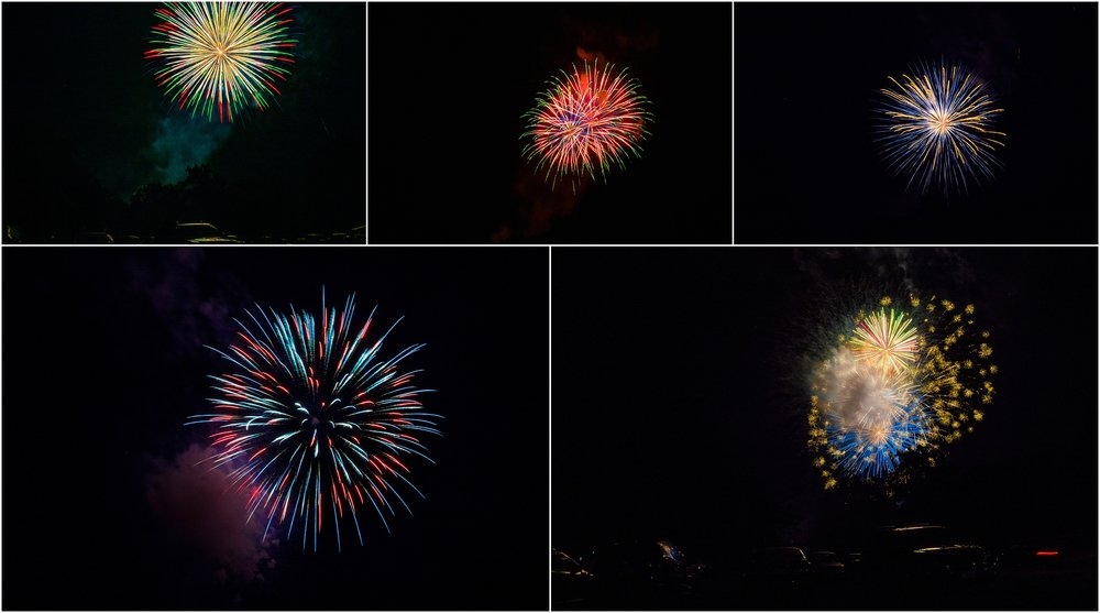 fireworks in Waynesboro Virginia