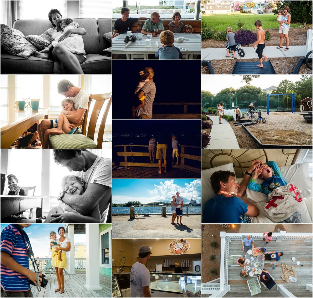 Vacation Documentary Family Photography Holli Pool Documenter