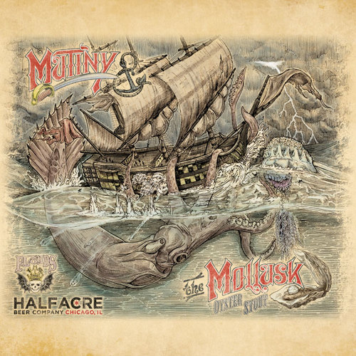 Mutiny & The Mollusk Oyster Stout