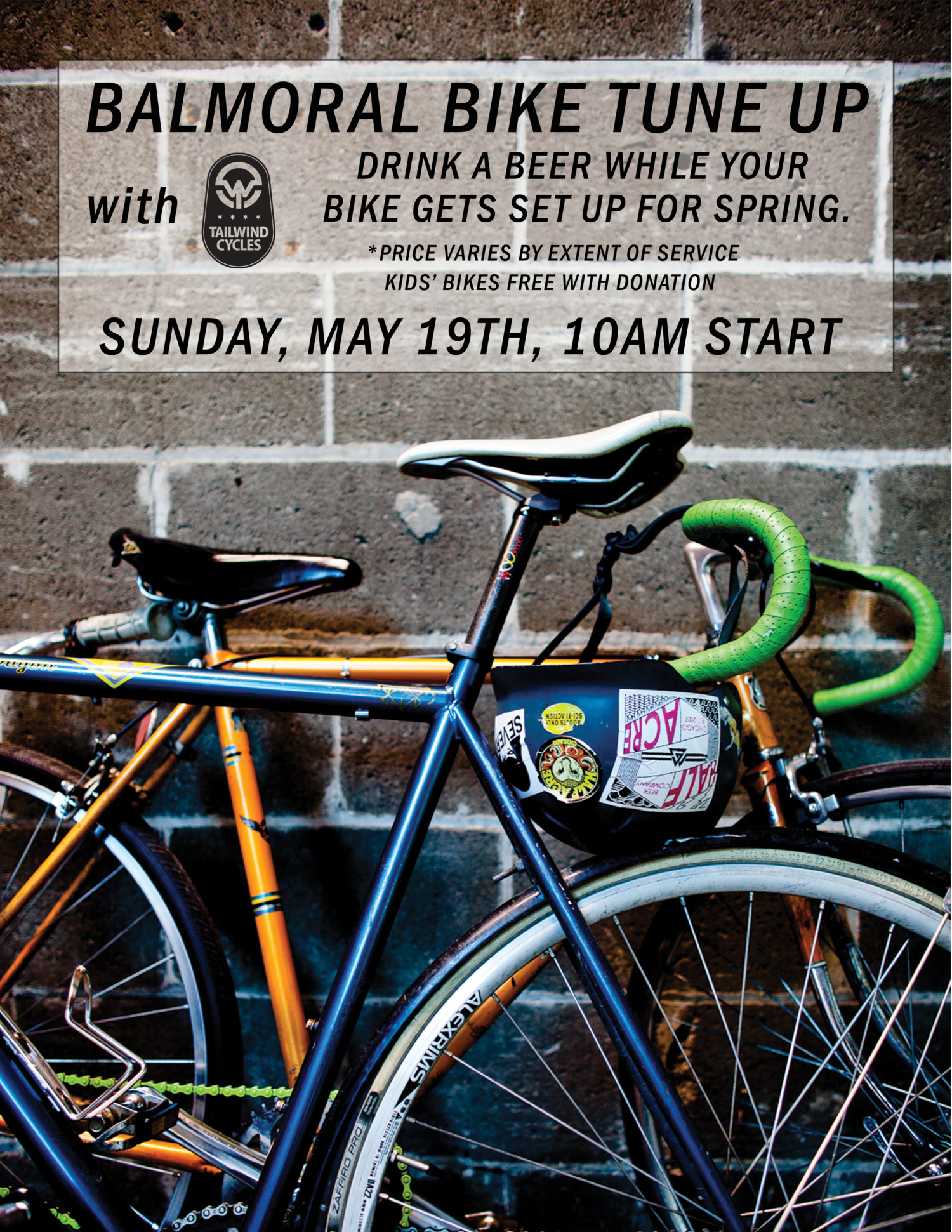 Bike Tune Up >> Balmoral Bike Tune Up With Tailwind Cycles Half Acre