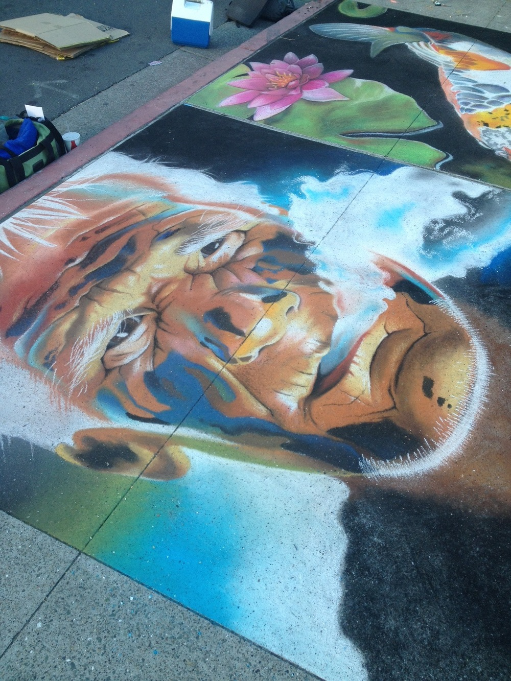 6x6'  |  Martinez Street Painting Festival, CA   |   2013