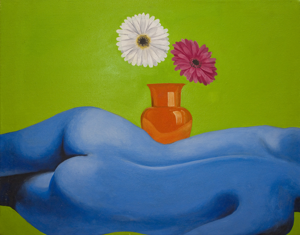 The Body and the Vase    |    Oil on canvas    |    22x28""