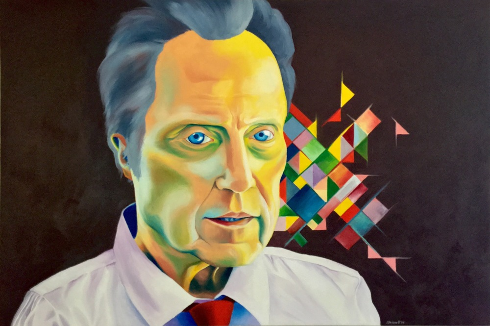 Walken    |    Oil on canvas    |    24x36""