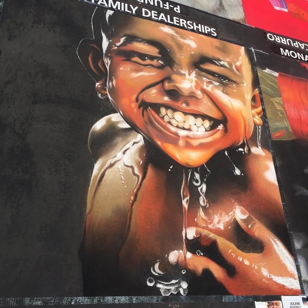 10x10'  |  Italian Street Painting Marin, 2016