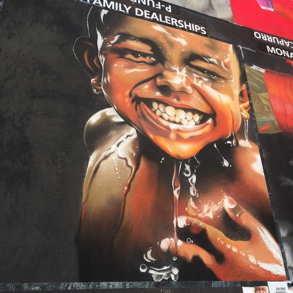 10x10'  |  Italian Street Painting Marin, CA  |  2016