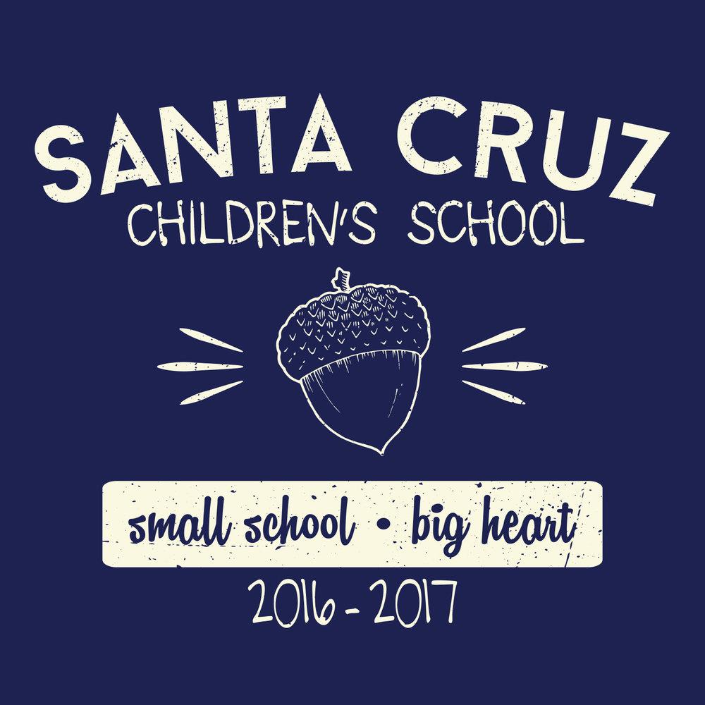 T-Shirt Design  |  Santa Cruz Children's School