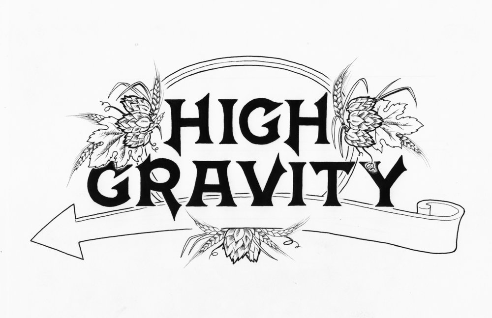 High Gravity Sign Graphic    |     Sierra Nevada Brewing Co
