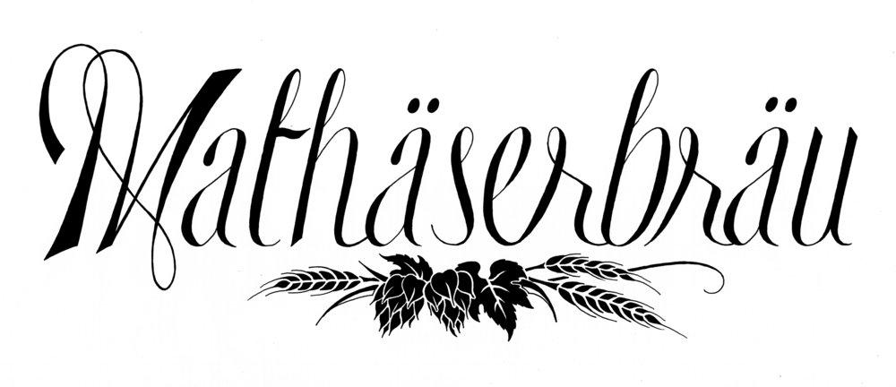 Logo Design  |  Mathaserbrau Brewing Co