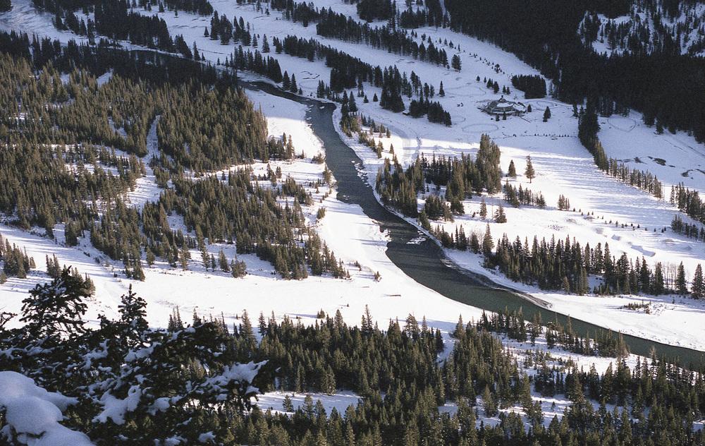 Tunnel Mountain, Alberta, Canada