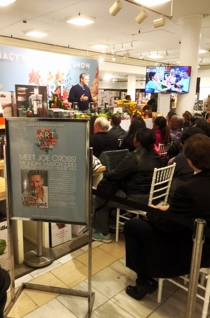 Joe Cross Juicing Demo, Macy's Herald Square, NY, NY