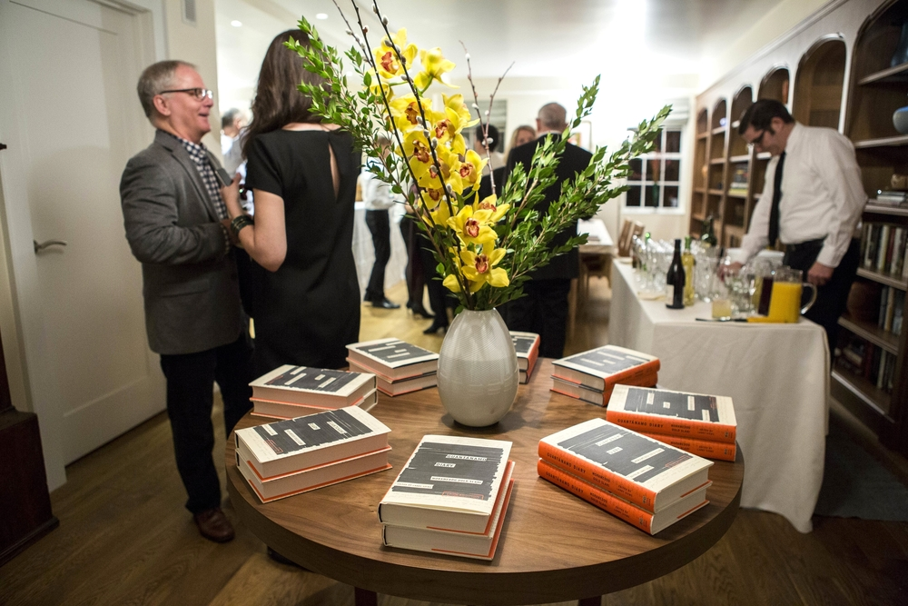 Book Signing Reception, Upper West Side Private Home, NY, NY