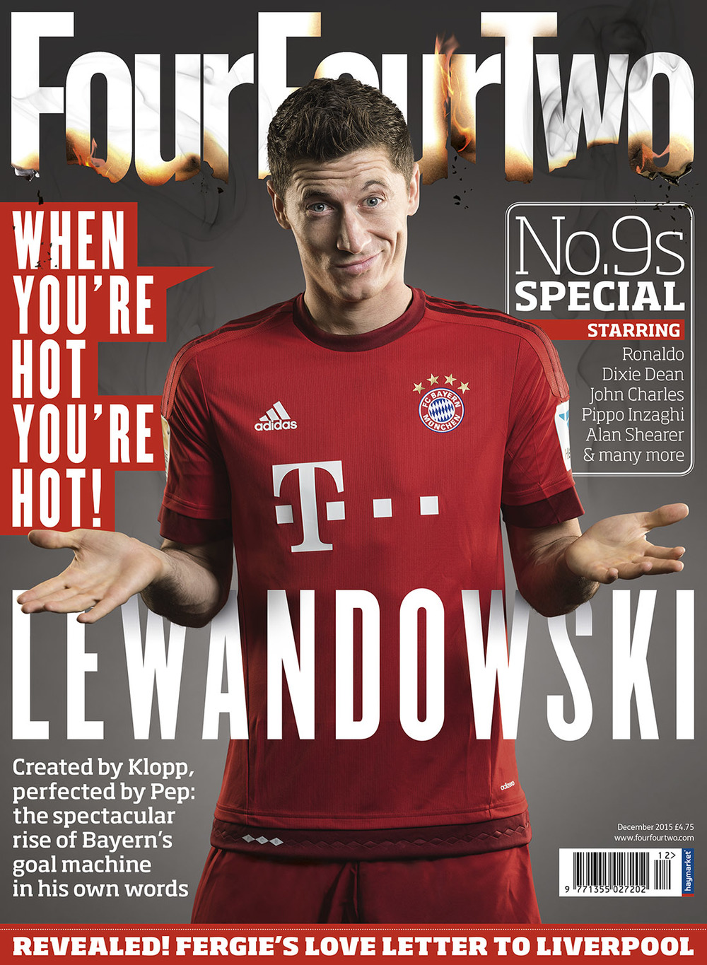 robert lewandowski four four two magazine shamil tanna. Black Bedroom Furniture Sets. Home Design Ideas