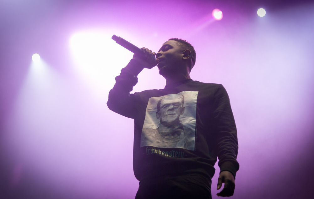 "Kendrick Lamar performs at Norwegian music festival Øyafestivalen in 2013. Lamar's latest album, ""To Pimp a Butterfly,"" was one of the most anticipated albums of this year. (Jørund Føreland Pedersen/Wikimedia Commons)"