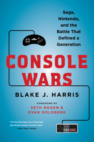 "Blake J. Harris' book ""Console Wars"" was released June 2, 2015 by HarperCollins (Courtesy/Harper Collins)"
