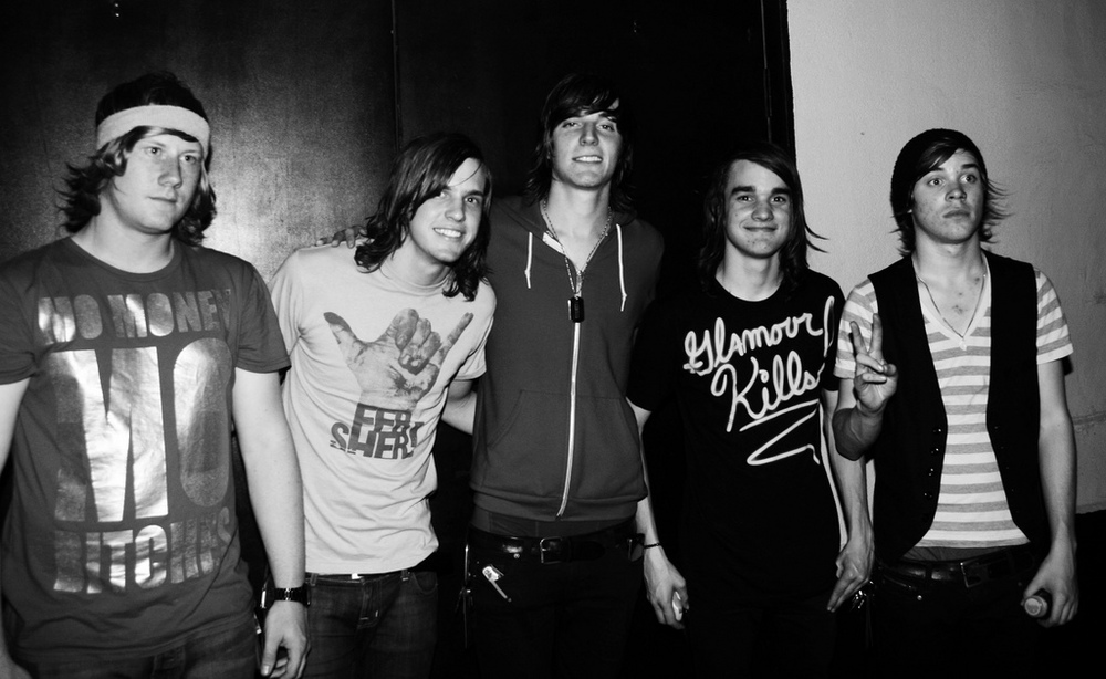 The Maine stands outside of Warehouse Live in Houston, Texas on May 23, 2008. The band has built up a cult following through consistent touring and record releases. (yeatorie/Flickr)