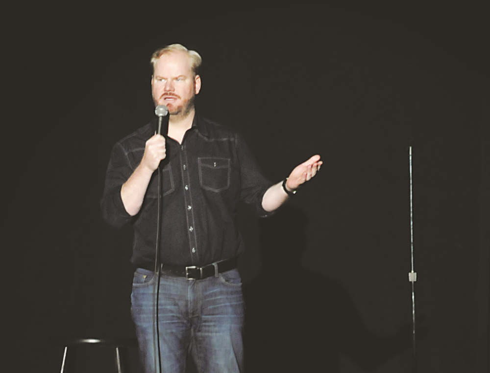 Jim Gaffigan visited the University of Connecticut's Jorgensen Center for the Performing Arts for a show on the Saturday night of Family Weekend. (Marissa DiBella/The Daily Campus)