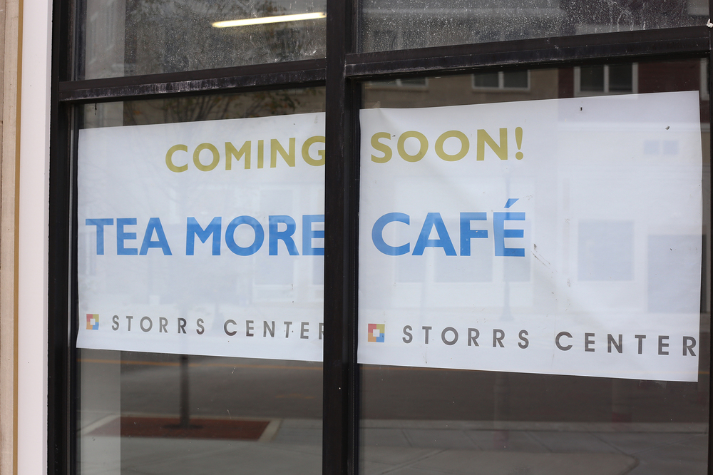 The Tea More Café is set to open in January 2016. The café will be located in the Wilbur Cross Way building, next to National Institute for the Clinical Application of Behavioral Medicine. (Jackson Haigis/The Daily Campus)