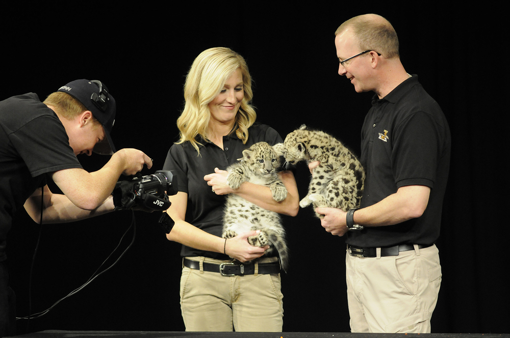 "Children and families went wild for Jack Hanna, television host, conservationist and wildlife educator, at his ""Into the Wild: Live"" show at the Jorgensen Center for the Performing Arts in Storrs, Connecticut on Sunday, Oct. 25, 2015. (Amar Batra/The Daily Campus)"