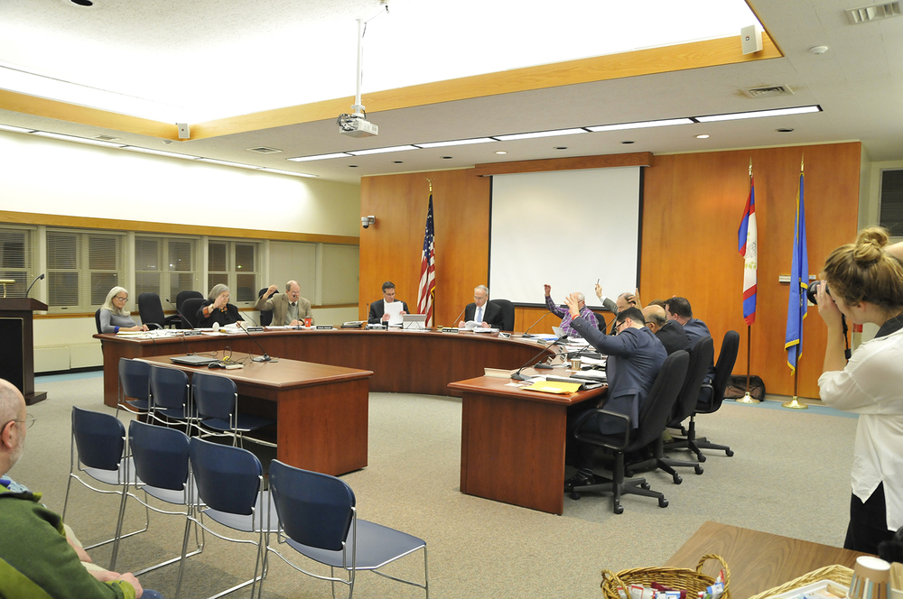 Members of the town council discussed whether further regulation or outright restriction on rental development in Mansfield is necessary. (Amar Batra/The Daily Campus)