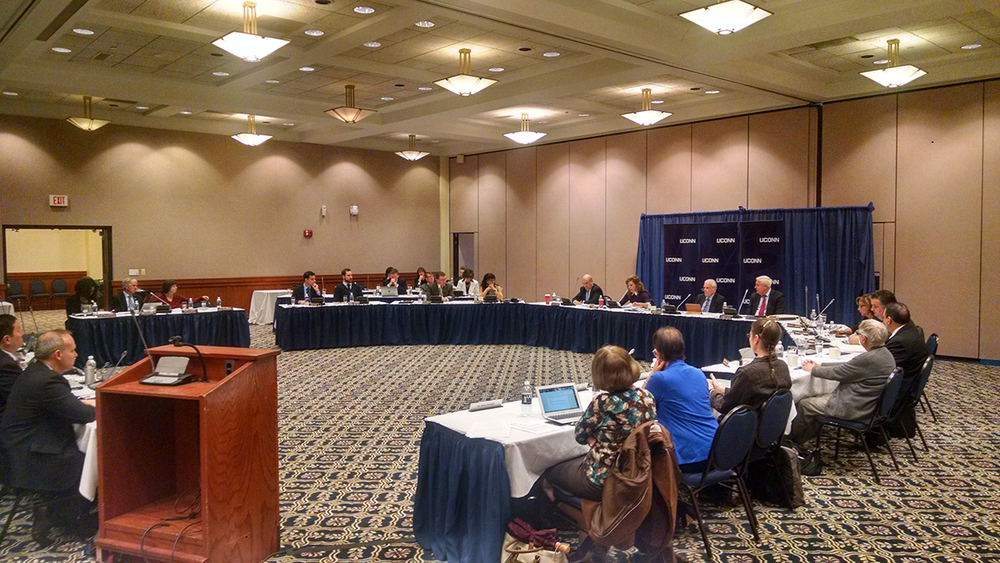 The UConn board of trustees voted to increase funding by $25 million for the new Hartford branch campus and sell the West Hartford branch campus, effectively moving the branch campus from West Hartford to Hartford. (Kyle Constable/Daily Campus)