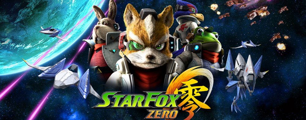 "The ""Star Fox Zero"" game aims for release in April of 2016. (Screenshot/Star Fox Zero website)"