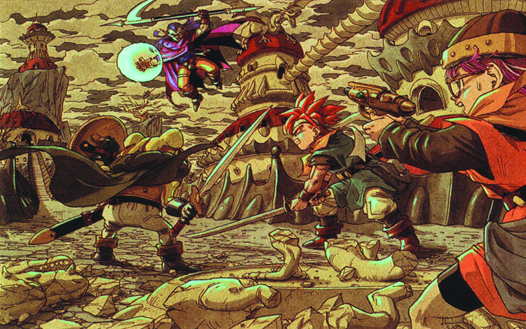 "A scene from the video game ""Chrono Trigger."" (Screenshot/""Chrono Trigger"" website)"