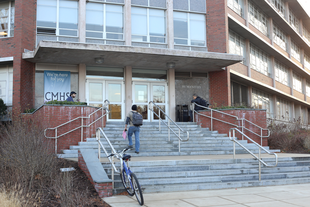 In this photo, the Jamie Homero Arjona building – which houses UConn's Counseling and Mental Health Services – is seen. Counseling and Mental Health Services has been preparing for the influx of stressed students due to the end of the semester, especially final exams. (Jackson Haigis/The Daily Campus)