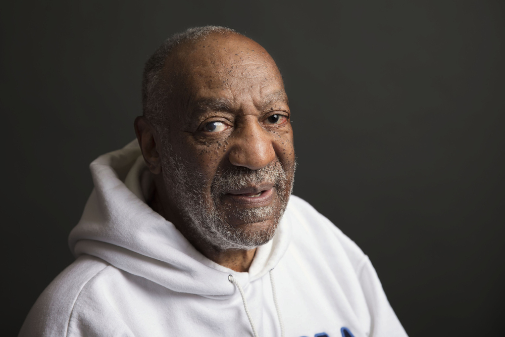 In this Nov. 18, 2013 file photo, actor-comedian Bill Cosby poses for a portrait in New York. A federal judge on Thursday, Jan. 21, 2016, dismissed a lawsuit filed by Renita Hill, 48, of Baldwin, Pa., who claims Bill Cosby defamed her when he and his representatives responded to allegations that he drugged and sexually assaulted her and other women. (Photo by Victoria Will/Invision/AP, File)