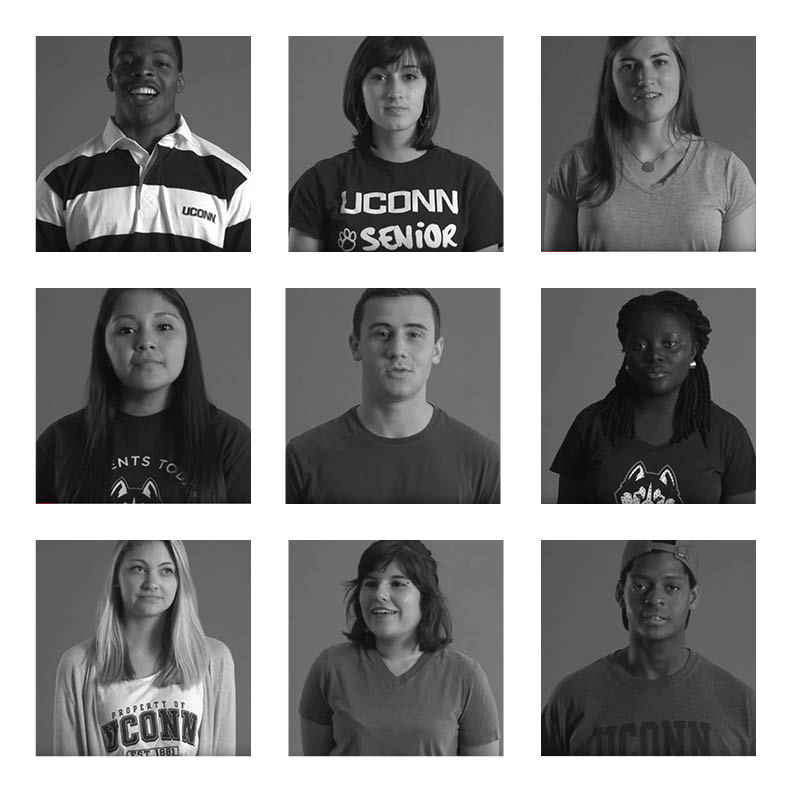 "#WeAreU is a campaign to address ""civility and respect"" on campus in an attempt to increase inclusion for all ethnicities and groups on campus. (Graphic by Ashley Maher, The Daily Campus)"