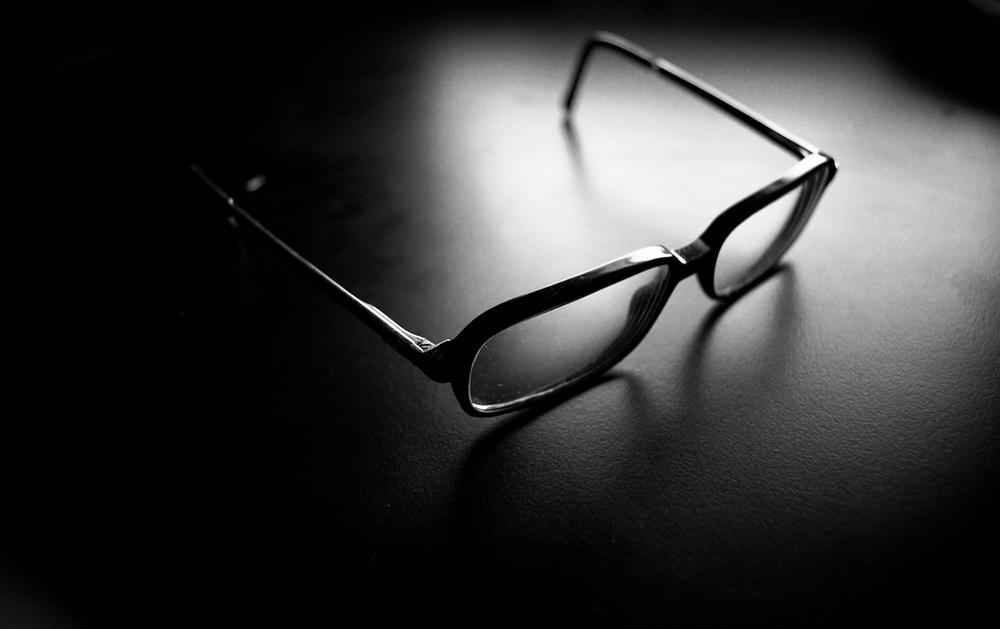 A common trope in television and film is that characters who wear glasses are dowdy and undesirable – at least until they take them off. (zubrow/Flickr)