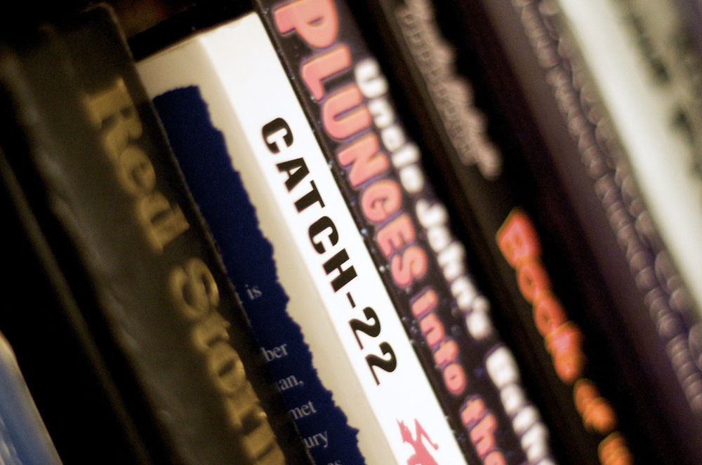 Catch-22 by Joseph Heller is deemed one of the most impressive war novels on shelves today by the roundtable. (Flickr/Matthew Rogers)