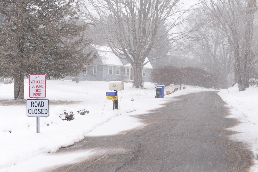 Ravine Road, the subject of a large town debate, was discussed at the Tues., Feb. 9 meeting and will be concluded in about two weeks time. (Ashley Maher/Daily Campus)