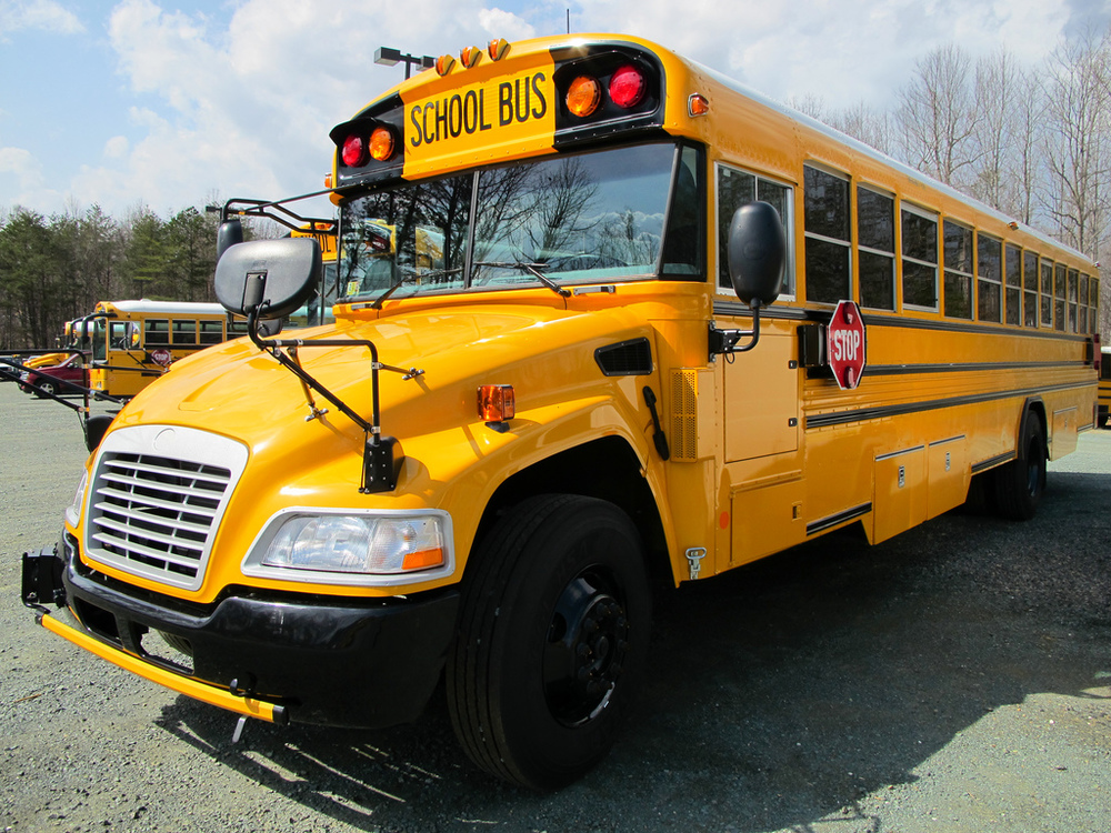 The EPA announced that it will give $525,000 to six Connecticut communities in order to reduce air pollution from school buses. The pollution is harmful to children, who each spend an average of 180 hours on a school bus annually. Flickr/Bill McChesney