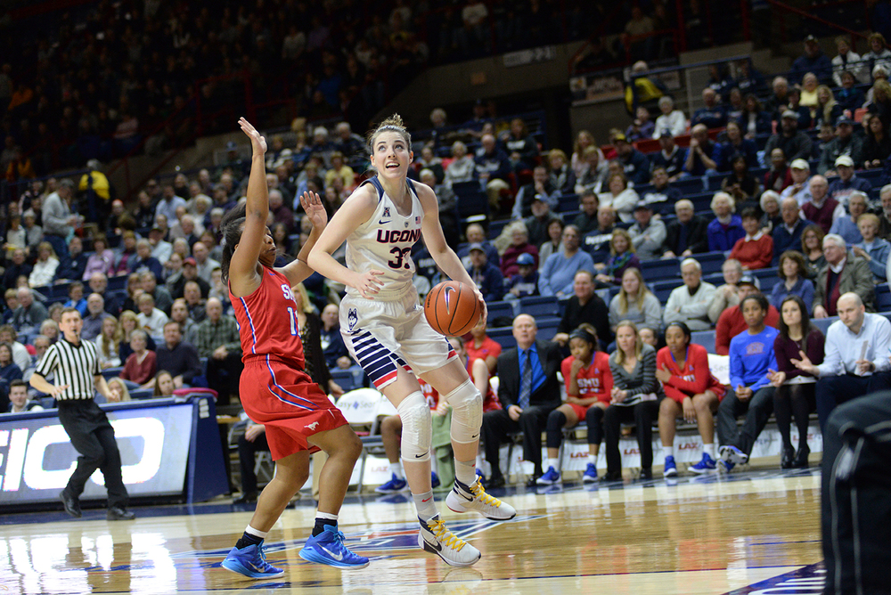 American Dominance: UConn defeats SMU 88-41