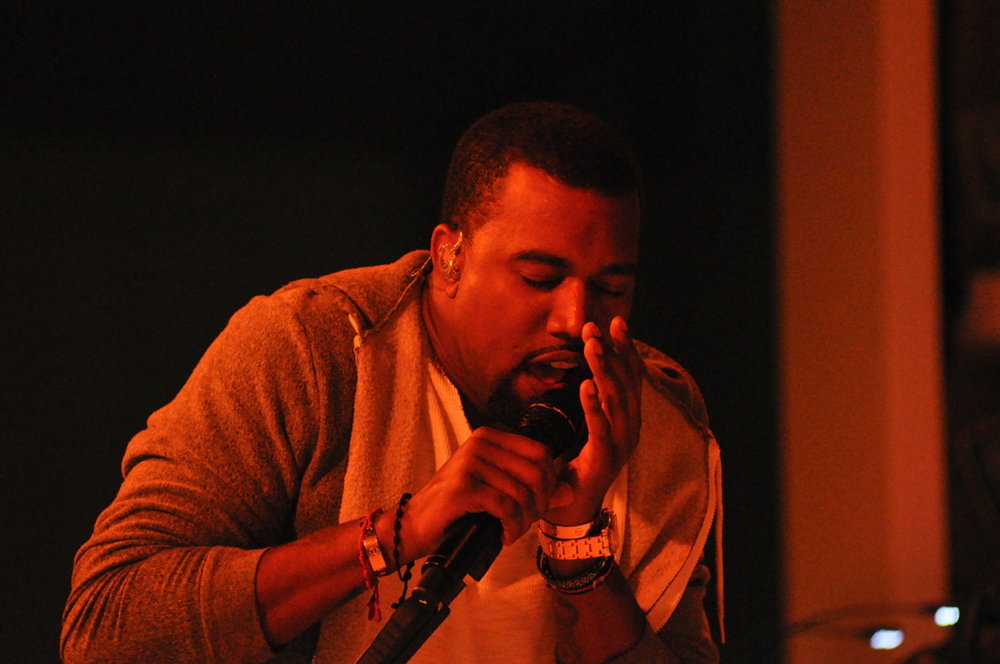 Kanye West performs at The Museum of Modern Art's annual Party in the Garden benefit, New York City, May 10, 2011. (Jason Persse/Creative Commons)