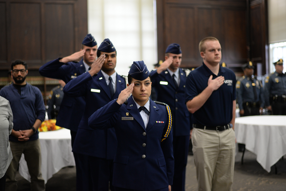 Gov. Malloy's proposal will not impact the approximately 150-student ROTC program at UConn because it is already operating under federal anti-discrimination mandates, said the director of Veterans Affairs and Military Programs at UConn Kristopher Perry. (Ashley Maher/Daily Campus)