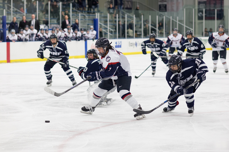 Women's Hockey: Huskies eliminated in Hockey East playoffs