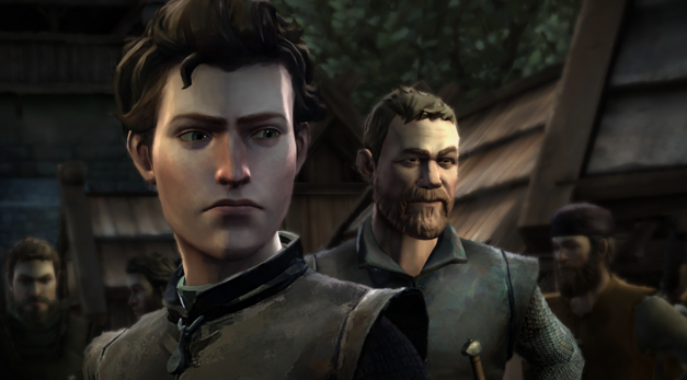 "A scene from Telltale's ""Game of Thrones"" video game. (Courtesy/Telltale)"