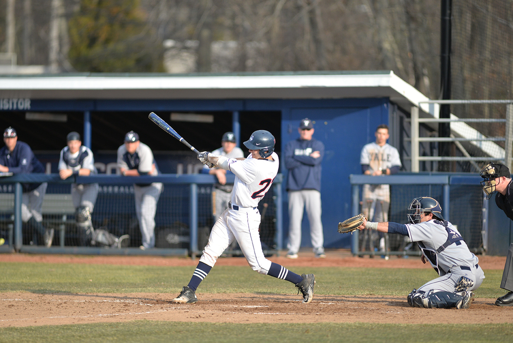 The UConn men's baseball team defeated the Yale Bulldogs 8-2 on Tuesday afternoon at J.O. Christian Field during the team's home opener. (Amar Batra/The Daily Campus)