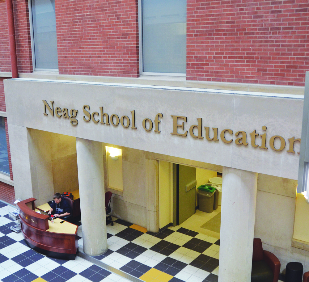 The Neag School of Education was ranked No. 26 in the nation and No. 16 among public universities. (Amar Batra/The Daily Campus)