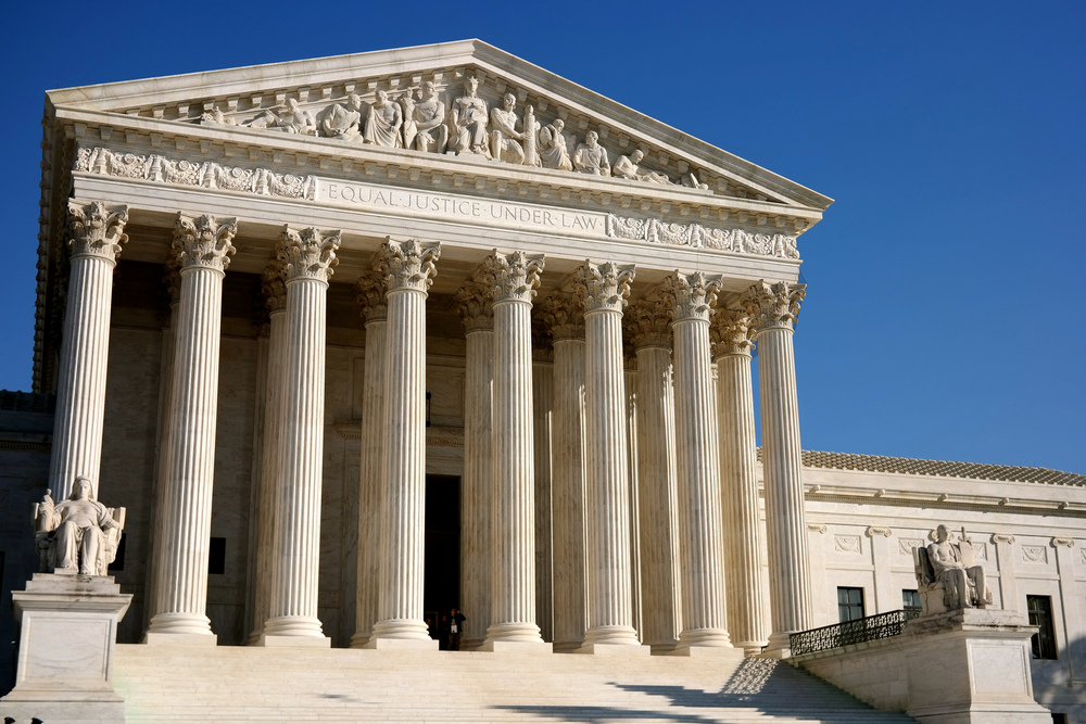 The United States Supreme Court in Washington, D.C. (Davis Staedtler/Creative Commons)