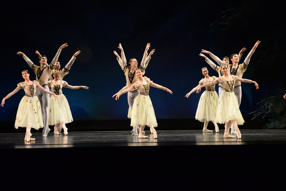 Members of the Moscow Festival Ballet perform at the Jorgensen Center for the Performing Arts in Storrs, Connecticut on Friday, April 1, 2016. (Ashley Maher/The Daily Campus)